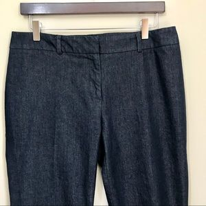 Chico's Size 1 Lightweight Denim Ankle Pant